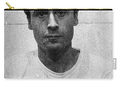 Ted Bundy Mug Shot 1975 Vertical  Carry-all Pouch