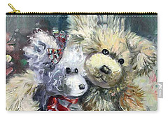 Teddy Bear Honeymooon Carry-all Pouch