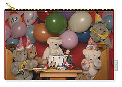 Teddy Bear Party Carry-all Pouch