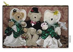 Teddy Bear Wedding Carry-all Pouch