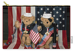 Teddy Bears In America Carry-all Pouch