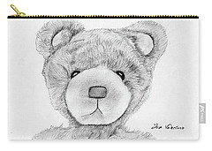 Teddybear Portrait Carry-all Pouch