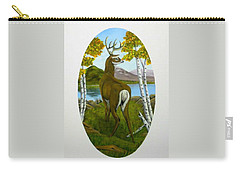 Teddy's Deer Carry-all Pouch