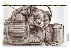 Teenage Bear Carry-all Pouch