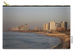 Tel Aviv Coast. Carry-all Pouch
