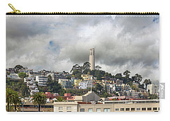 Telegraph Hill Neighborhood Homes In San Francisco Carry-all Pouch