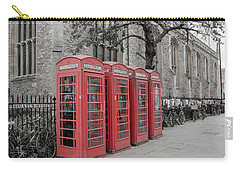 Telephone Boxes Carry-all Pouch