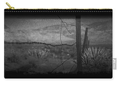 Carry-all Pouch featuring the photograph Tell Me by Mark Ross