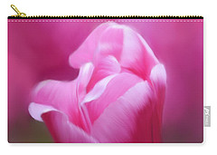 Tell Your Heart To Beat Again - Flower Art Carry-all Pouch