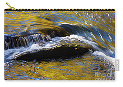 Carry-all Pouch featuring the photograph Tellico River - D010004 by Daniel Dempster