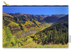 Telluride In Autumn - Colorful Colorado - Landscape Carry-all Pouch