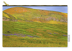 Temblor Range Spring Color Carry-all Pouch