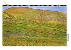 Temblor Range Spring Color Carry-all Pouch
