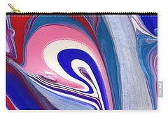 Tempera Paint Series 3 Carry-all Pouch by Carlee Ojeda