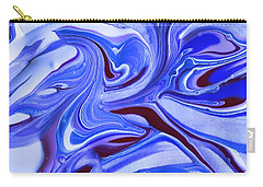 Tempera Paint Series 4 Carry-all Pouch by Carlee Ojeda