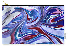 Tempera Paint Series 5 Carry-all Pouch by Carlee Ojeda