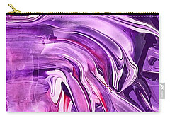 Tempera Paint Series 6 Carry-all Pouch by Carlee Ojeda