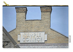 Temple College Carry-all Pouch by Bill Cannon