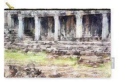 Temples At Angkor Carry-all Pouch by Shirley Stalter