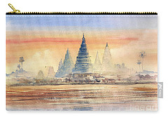 Temples In The Dusk Carry-all Pouch