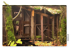 Carry-all Pouch featuring the photograph Temporary Shelter by Albert Seger