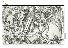 Medieval History Drawings Carry-All Pouches