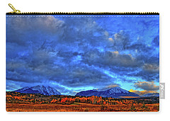 Carry-all Pouch featuring the photograph Ten Mile Of Fall Colors by Scott Mahon