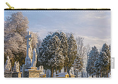 Ten Stations Of The Cross Christmas Morning Carry-all Pouch