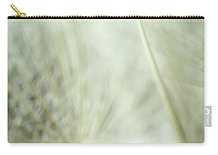 Tender Dandelion Carry-all Pouch by Iris Greenwell