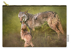 Carry-all Pouch featuring the digital art Tender Moment by Nicole Wilde