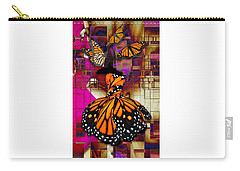 Carry-all Pouch featuring the mixed media Tenderly by Marvin Blaine