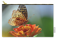 Carry-all Pouch featuring the photograph Tenderness by Glenn Gordon