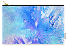 Carry-all Pouch featuring the digital art Tenderness by Klara Acel