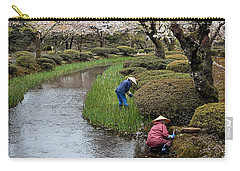 Tending The Japanese Garden No. 2 Carry-all Pouch