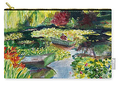 Tending The Pond Carry-all Pouch