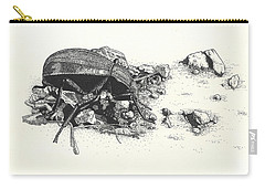 Darkling Beetle Carry-all Pouch