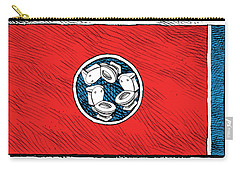 Tennessee Bathroom Flag Carry-all Pouch
