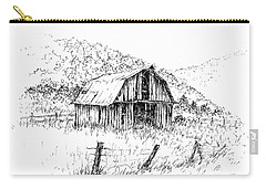 Tennessee Hills With Barn Carry-all Pouch