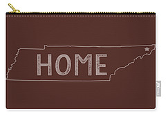 Carry-all Pouch featuring the digital art Tennessee Home by Heather Applegate