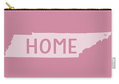 Carry-all Pouch featuring the photograph Tennessee Home White by Heather Applegate
