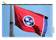 Tennessee State Flag Carry-all Pouch by Kristin Elmquist