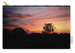 Carry-all Pouch featuring the photograph Tennessee Sunset 305 by Ericamaxine Price
