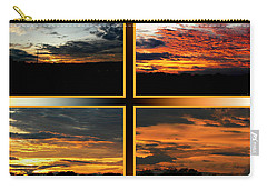 Carry-all Pouch featuring the photograph Tennessee Sunset by EricaMaxine  Price