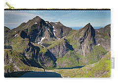 Tennesvatnet And Mountains From Munken Carry-all Pouch by Aivar Mikko