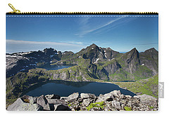 Tennesvatnet And Krokvatnet From Munken Carry-all Pouch by Aivar Mikko