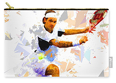 Carry-all Pouch featuring the painting Tennis 114 by Movie Poster Prints