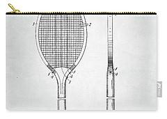 Tennis Racket Patent 1907 Carry-all Pouch