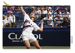 Tennis Serve Carry-all Pouch by Sally Weigand