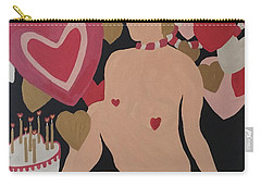 Tenth Valentine's Day Carry-all Pouch by Erika Chamberlin