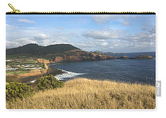 Terceira Coastline, The Azores, Portugal Carry-all Pouch by Kelly Hazel